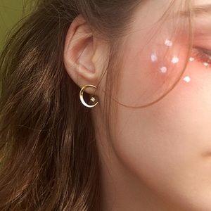 Take Me to the Moon 3D Earring Set